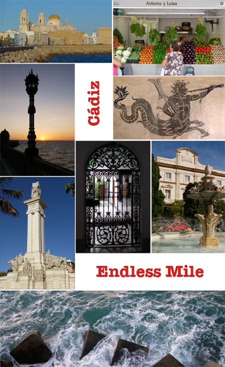 Endless Mile, Robert Wright, guide, walking tour, Cádiz